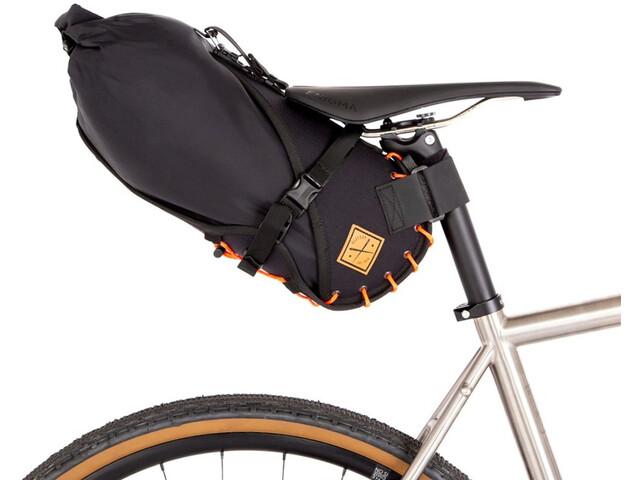 Restrap Small Bolsa de Sillín con Bolsa Seca 8L, negro
